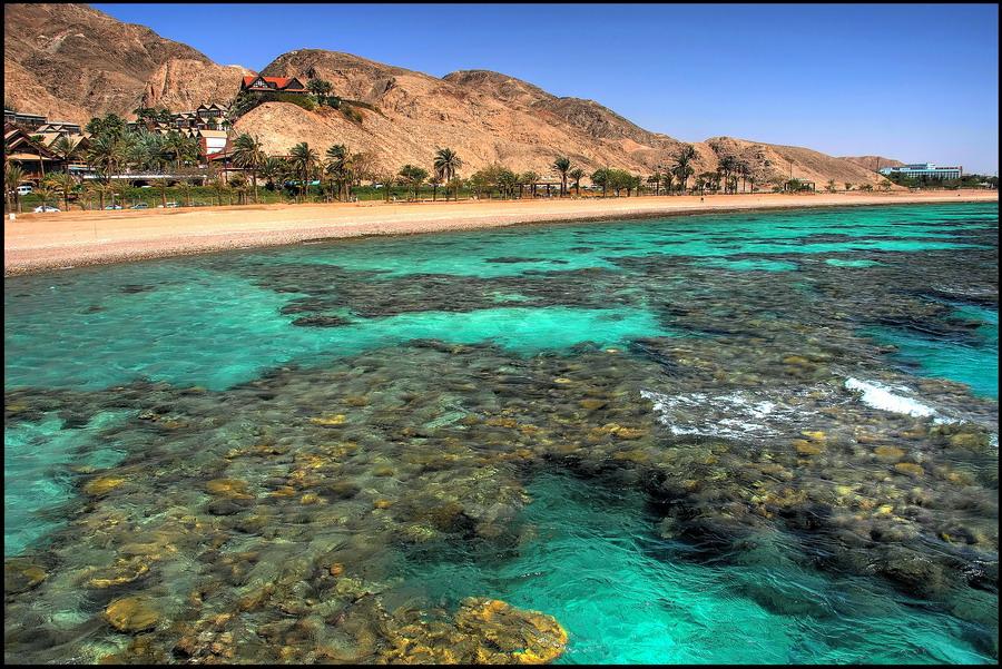 Эйлат - побережье Красного моря