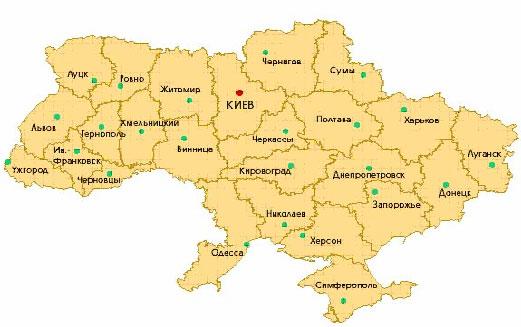 Территория Украины