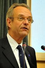 И.о. главы представительства Еврокомиссии в России Пол Вандорен (Фото: Алексей Власов)