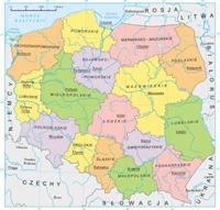 Карта Польской республики