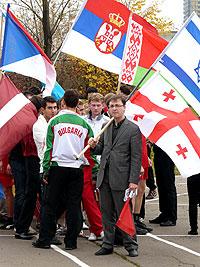 I студенческие Олимпийские игры МГИМО среди иностранных учащихся
