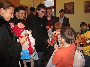 Грузинский клуб — в помощь детям