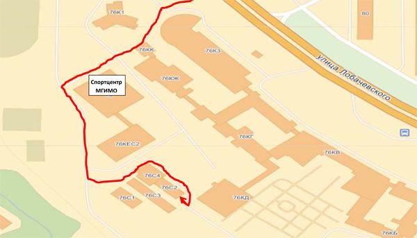 Схема маршрутов (нажмите для увеличения).  Как найти Автошколу на территории МГИМО.  Принимаются все желающие (не...