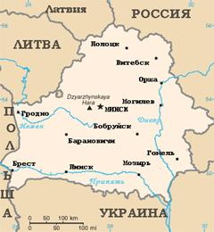 Территория Беларуси