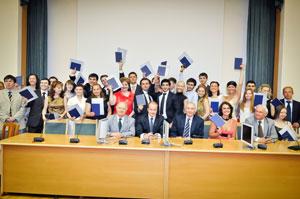 Выпускникам Международного института управления вручили дипломы