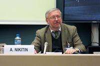Участие А.И.Никитина в работе Научного совета при СБ РФ и Научно-экспертного Совета ОДКБ