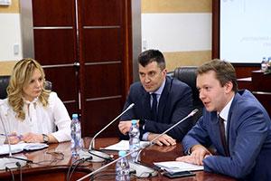 Министр труда Сербии Зоран Джорджевич вМГИМО