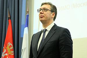 Президент Сербии А.Вучич— Почетный доктор МГИМО