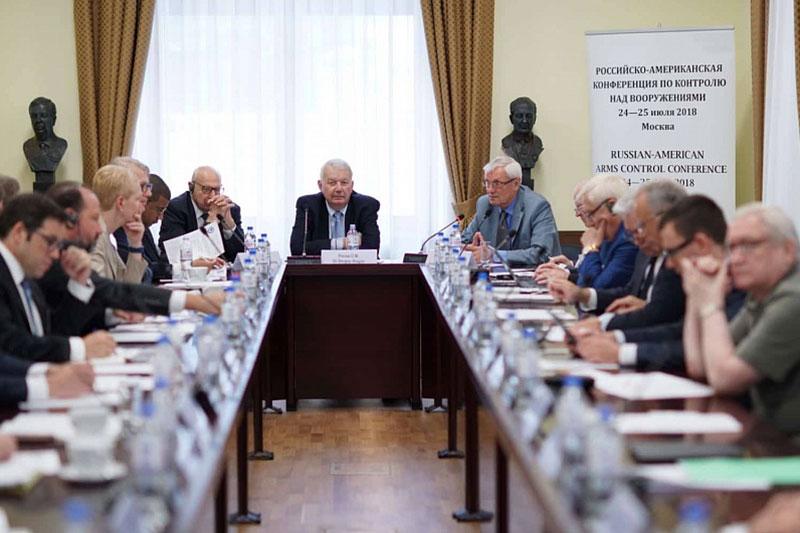 Российско-американская конференция поконтролю над вооружениями