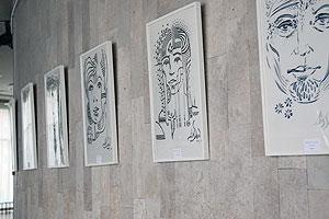 Выставка работ Д.Остапчука