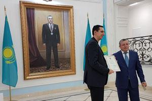Посольство Казахстана благодарит сотрудников ИМИ за укрепление казахстанско-российских отношений