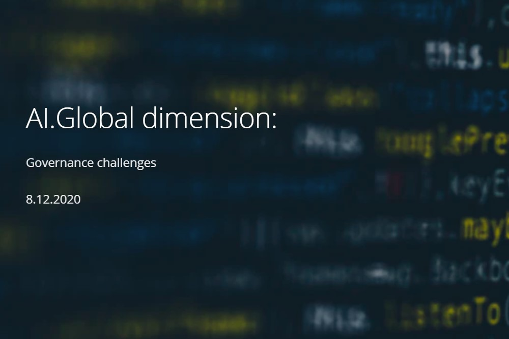 Конференция «AI Global Dimension — Governance Challenges»